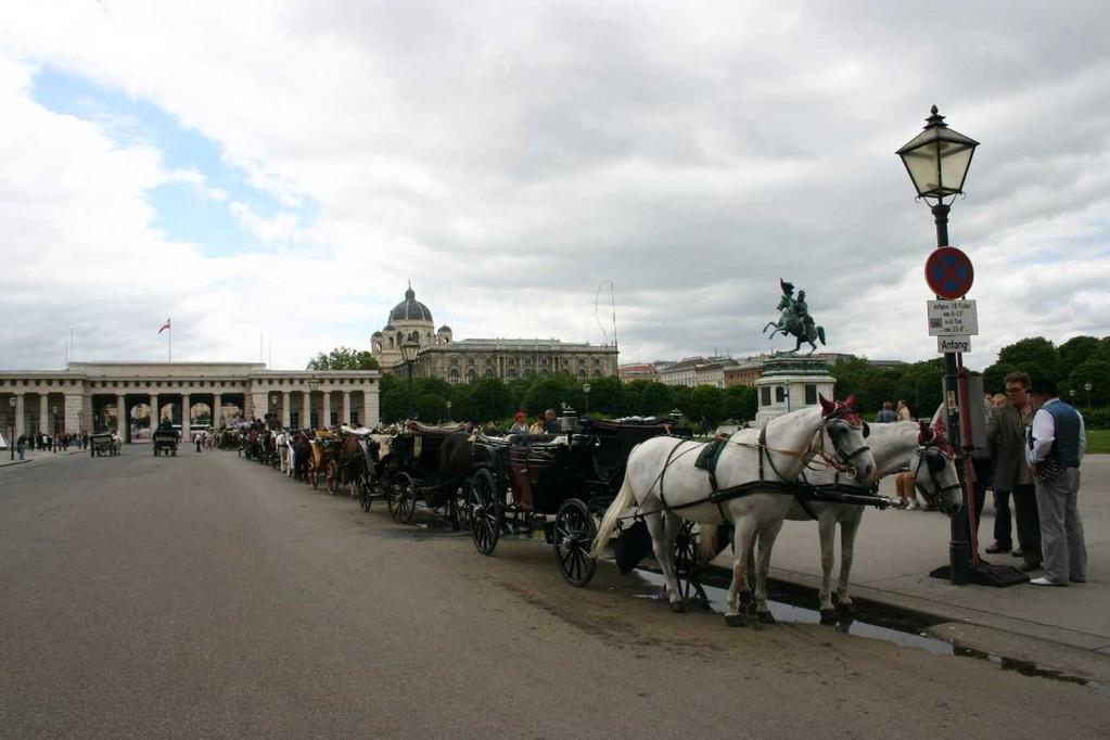 0447_22 Mai 08_Wien_Heldenplatz_Erzherzog-Karl-Reiterdenkmal_Fiaker