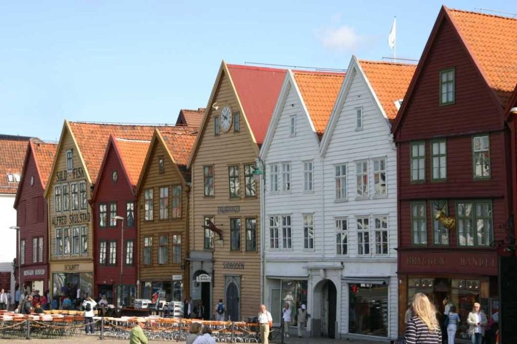 Bild 2944 - Norwegen, Bergen, Bryggen