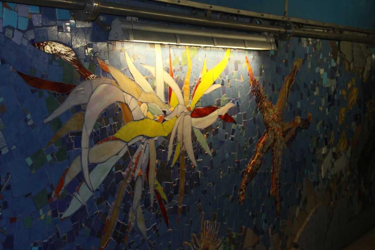 0741_11 Okt 2013_Riomaggiore_Bahnhof_Tunnel_Mosaik