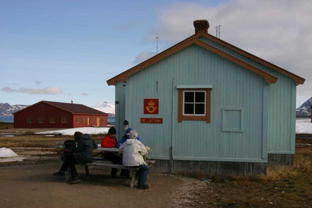 Bild 1464 - Spitzbergen, Ny Alesund, nördl. Postamt der Welt