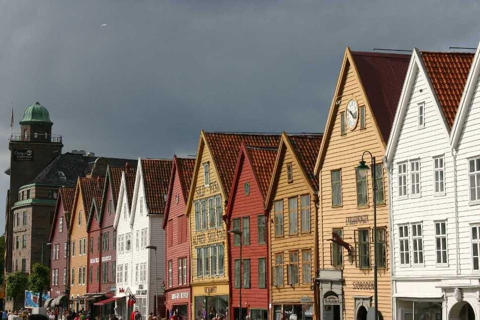 Bild 3186 - Norwegen, Bergen, Bryggen