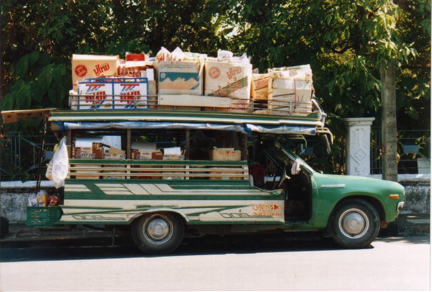 Lieferwagen in Phuket Town