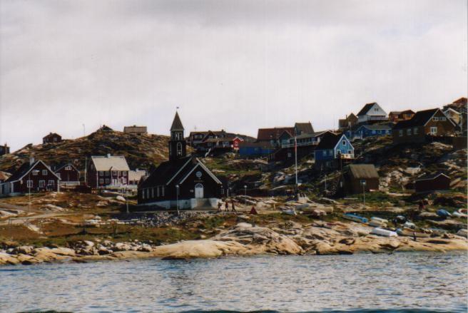 Kirche von Ilulissat / Grönland