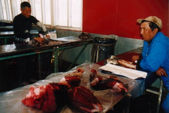 Fischmarkt in Paamuit / Grönland