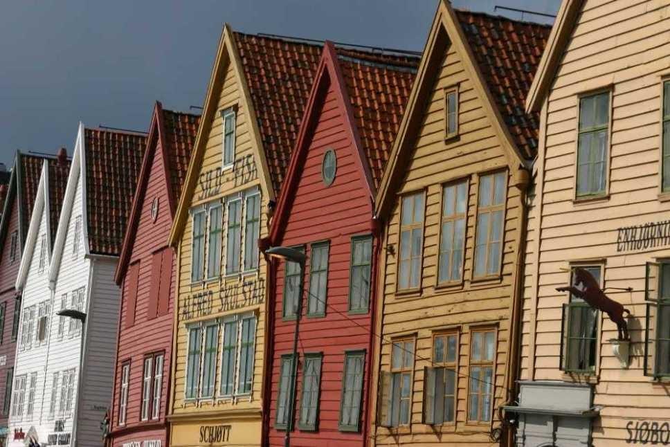 Bild 3203 - Norwegen, Bergen, Bryggen