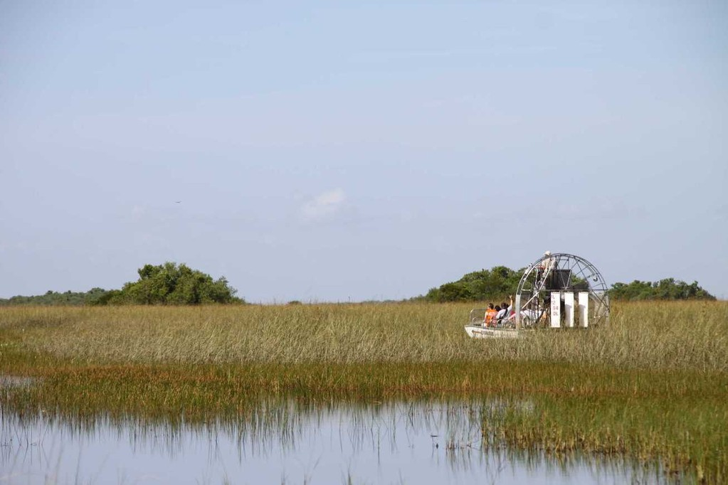 1692_14 Juni 2010_Everglades_Airboat Ride_Sümpfe_Boot