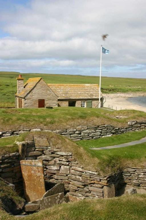 Bild 0252 - Orkney Inseln, Skara Brae