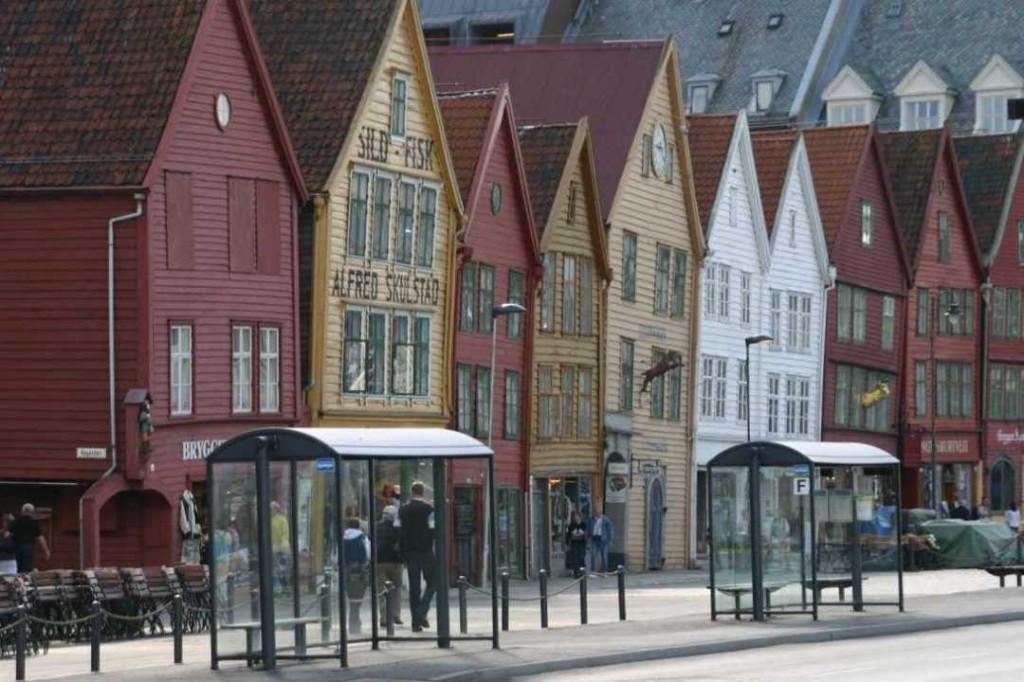 Bild 2888 - Norwegen, Bergen, Bryggen