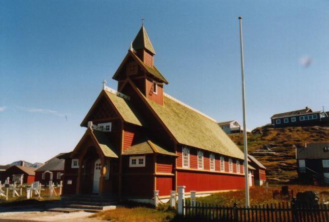 Kirche in Paamuit / Grönland
