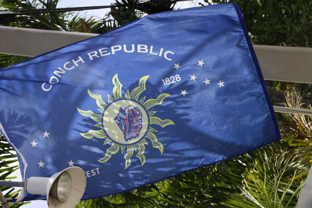 1459_13 Juni 2010_Key West_Flagge Conch Republic