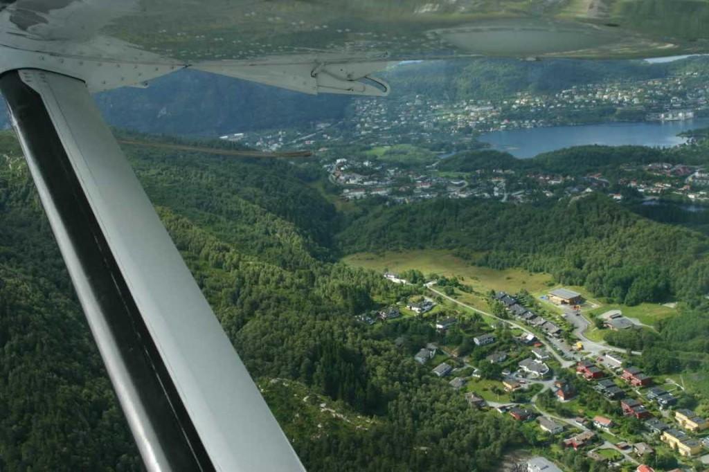Bild 2991 - Norwegen, Bergen, Rundflug Wasserflugzeug