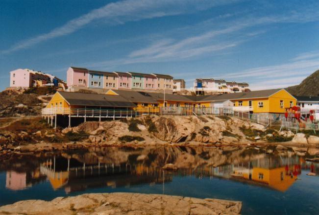Kindergarten in Qaqortoq / Grönland