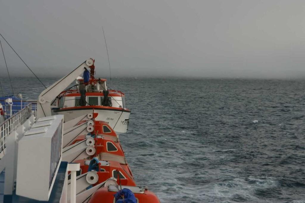 Bild 0939 - MS Delphin auf See, Schneesturm