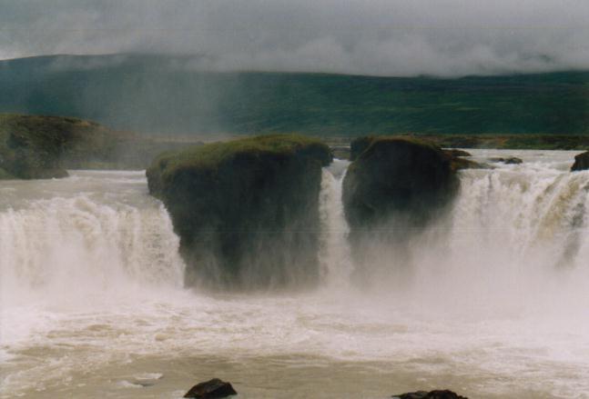 Godafoss-Wasserfall / Island