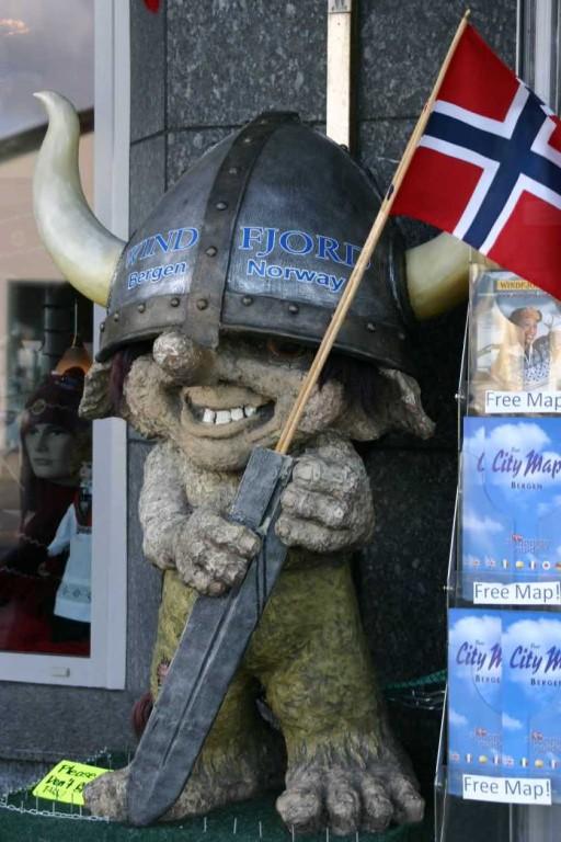 Bild 2886 - Norwegen, Bergen, Troll