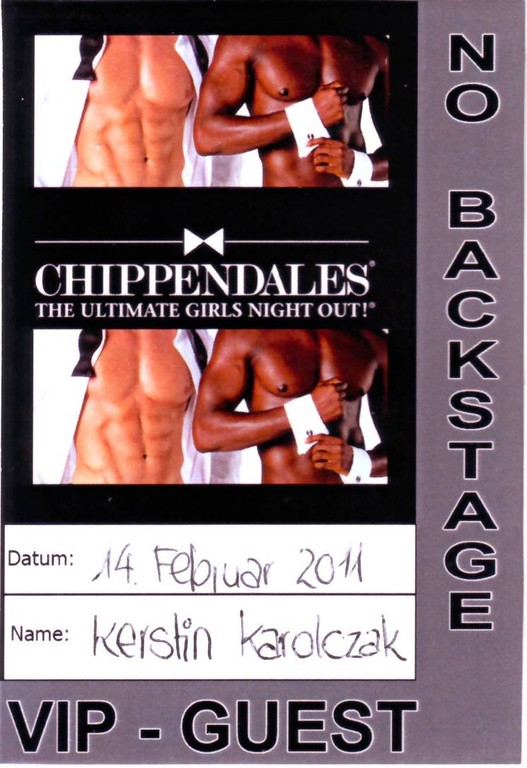 Chippendales VIP-Pass