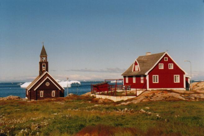 Kirche in Ilulissat / Grönland