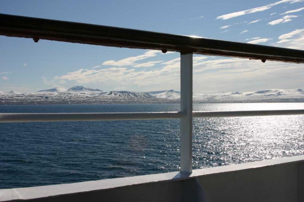 Bild 1964 - Spitzbergen, Barentsburg, MS Delphin
