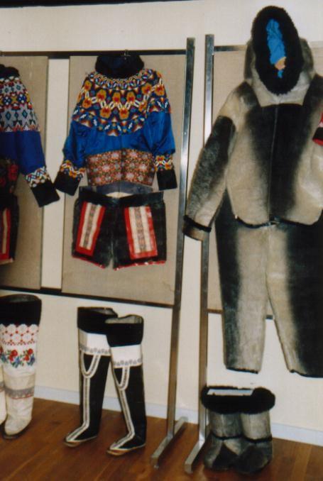 im Museum von Paamuit / Grönland