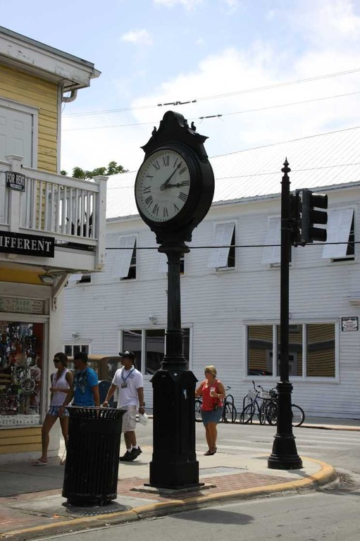 1487_13 Juni 2010_Key West_Towerclock
