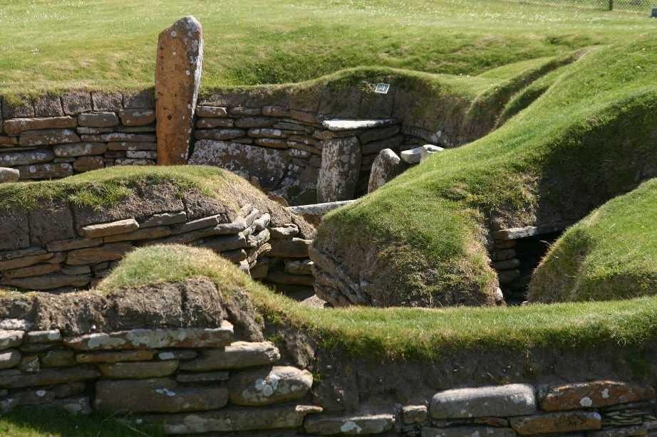Bild 0247 - Orkney Inseln, Skara Brae