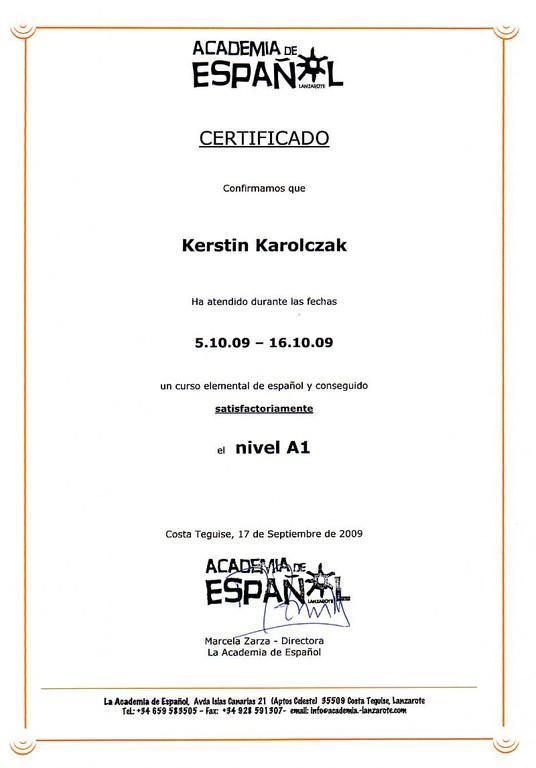 20091016_Certificado Nivel A1