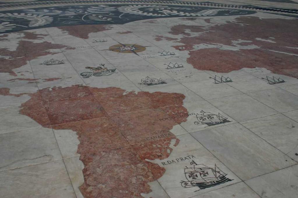 0154_31 Okt 07_Lissabon_Belem_Weltkarte