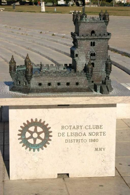 0094_31 Okt 07_Lissabon_Belem_Torre de Belem_Rotary Clube