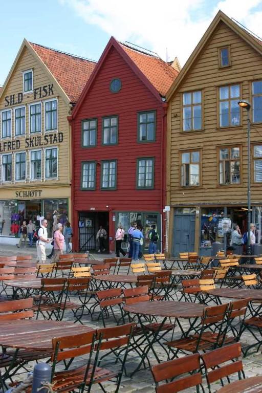 Bild 2967 - Norwegen, Bergen, Bryggen