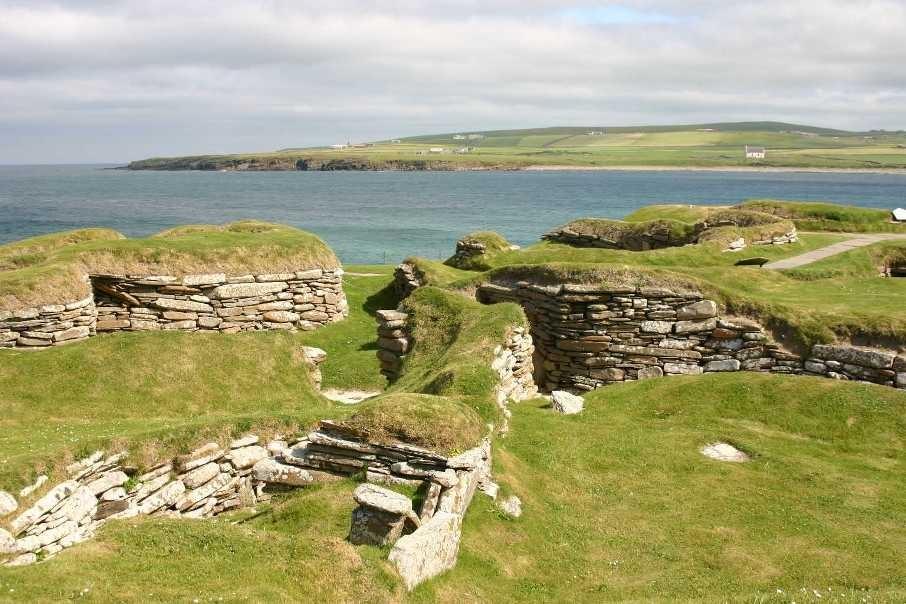 Bild 0234 - Orkney Inseln, Skara Brae