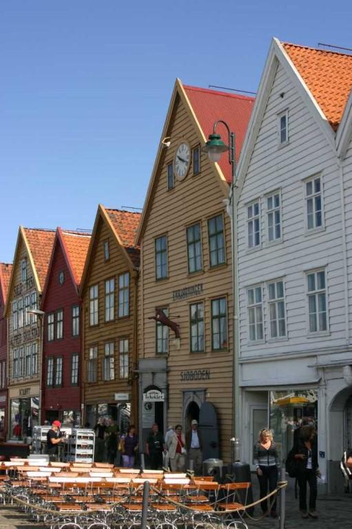 Bild 2957 - Norwegen, Bergen, Bryggen