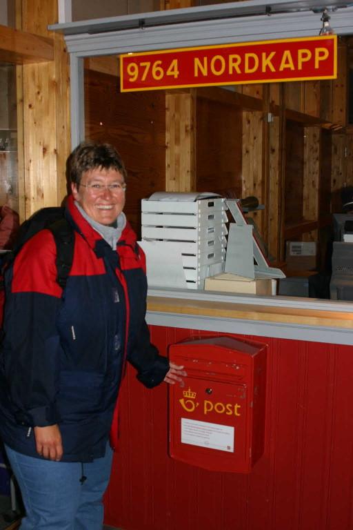 Bild 2141 - Norwegen, Nordkap, Postamt