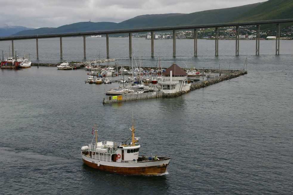 Bild 2213 - Norwegen, Tromsö, Hafen