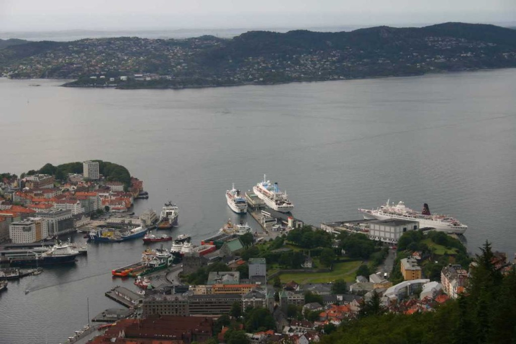 Bild 3130 - Norwegen, Bergen, auf dem Fløyen