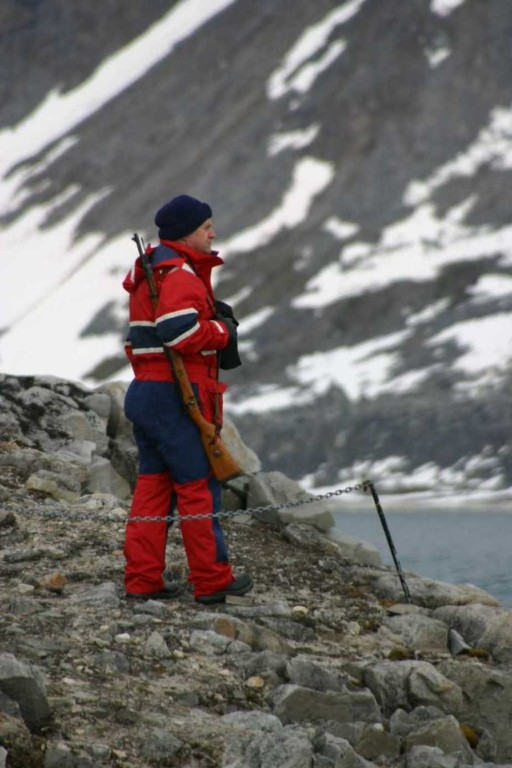 Bild 1138 - Spitzbergen, Magdalenenbucht, Guardian