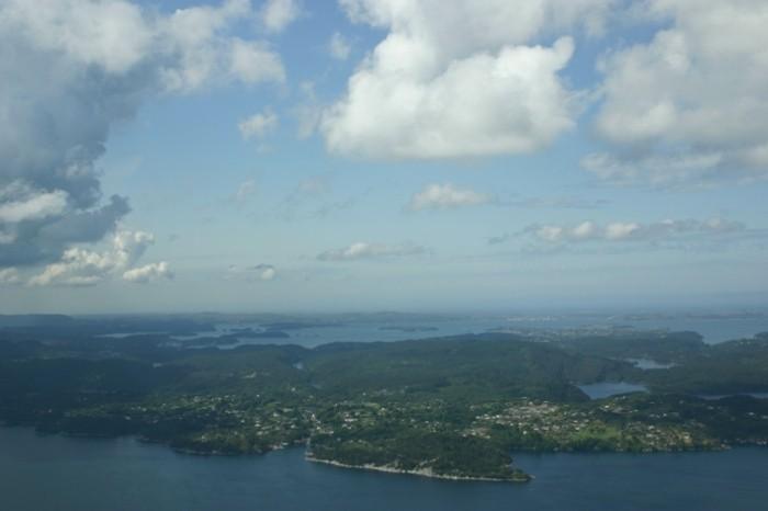 Bild 3034 - Norwegen, Bergen, Rundflug Wasserflugzeug
