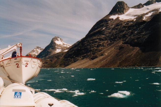 im Prins Christian Sund / Grönland