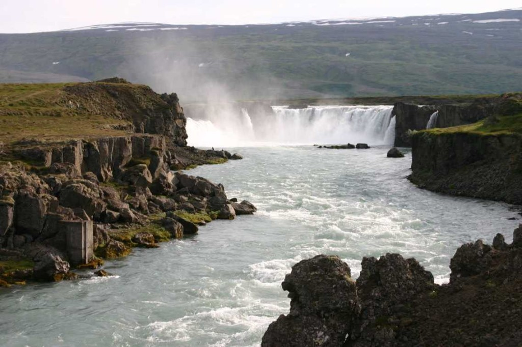 Bild 0799 - Island / Godafoss-Wasserfall