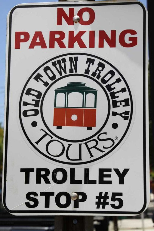 1370_13 Juni 2010_Key West_Trolley Tours_Schild