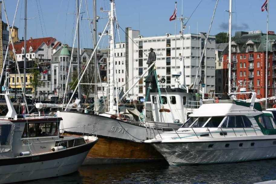 Bild 2941 - Norwegen, Bergen, Hafen