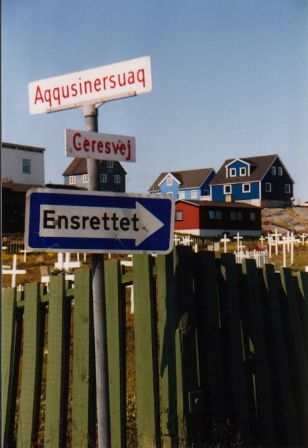 Friedhof in Nuuk / Grönland