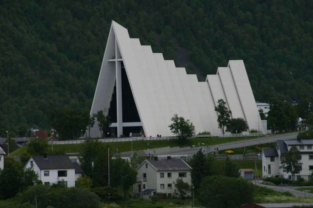 Bild 2207 - Norwegen, Tromsö, Eismeerkathedrale