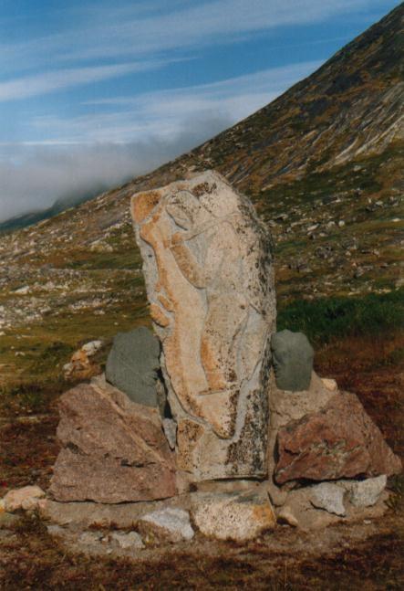 """Projekt """"Stein und Mensch"""" von Aka Høegh in Qaqortoq / Grönland"""