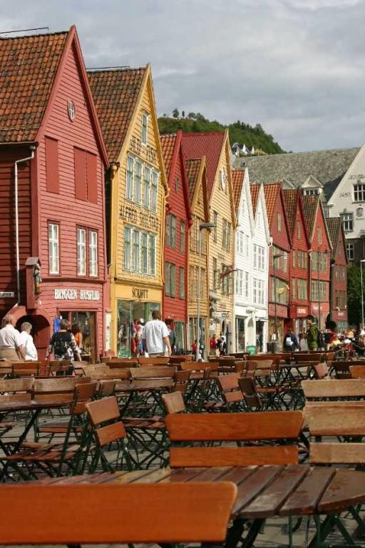 Bild 3229 - Norwegen, Bergen, Bryggen