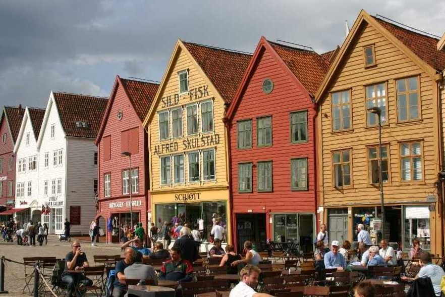 Bild 3208 - Norwegen, Bergen, Bryggen