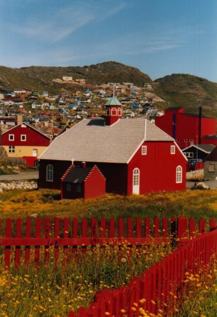 Kirche in Qaqortoq / Grönland