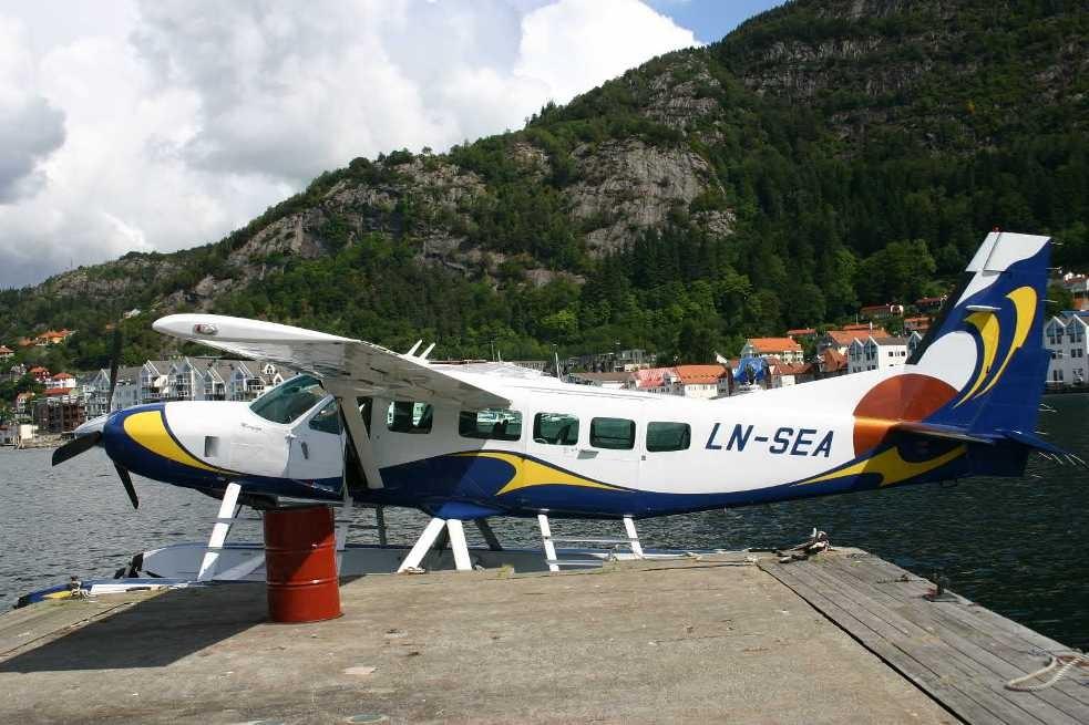 Bild 3042 - Norwegen, Bergen, Rundflug Wasserflugzeug