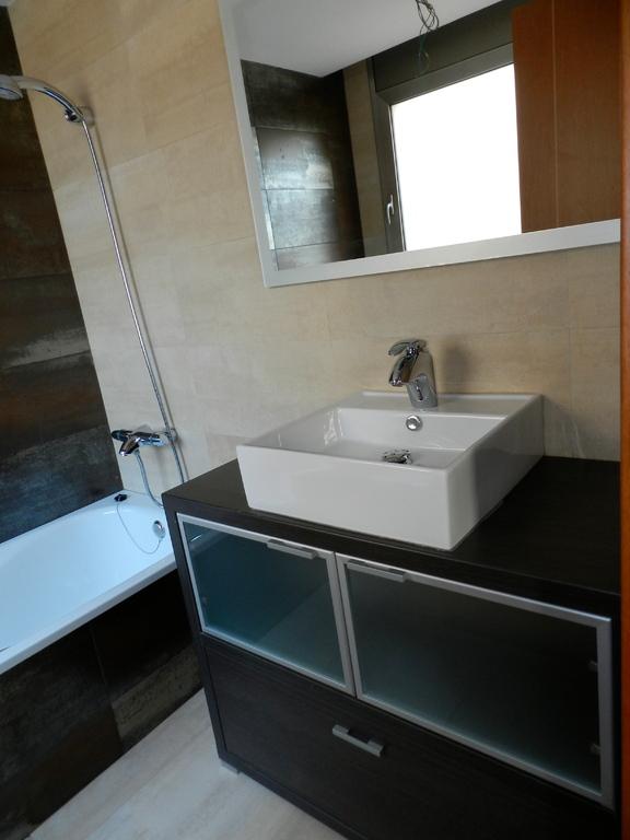 Baño del apartamento en Tossa de Mar