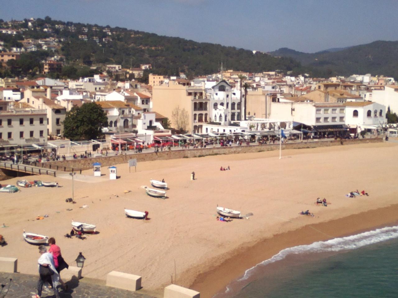 Alquiler de vacaciones en Tossa de Mar, platja gran