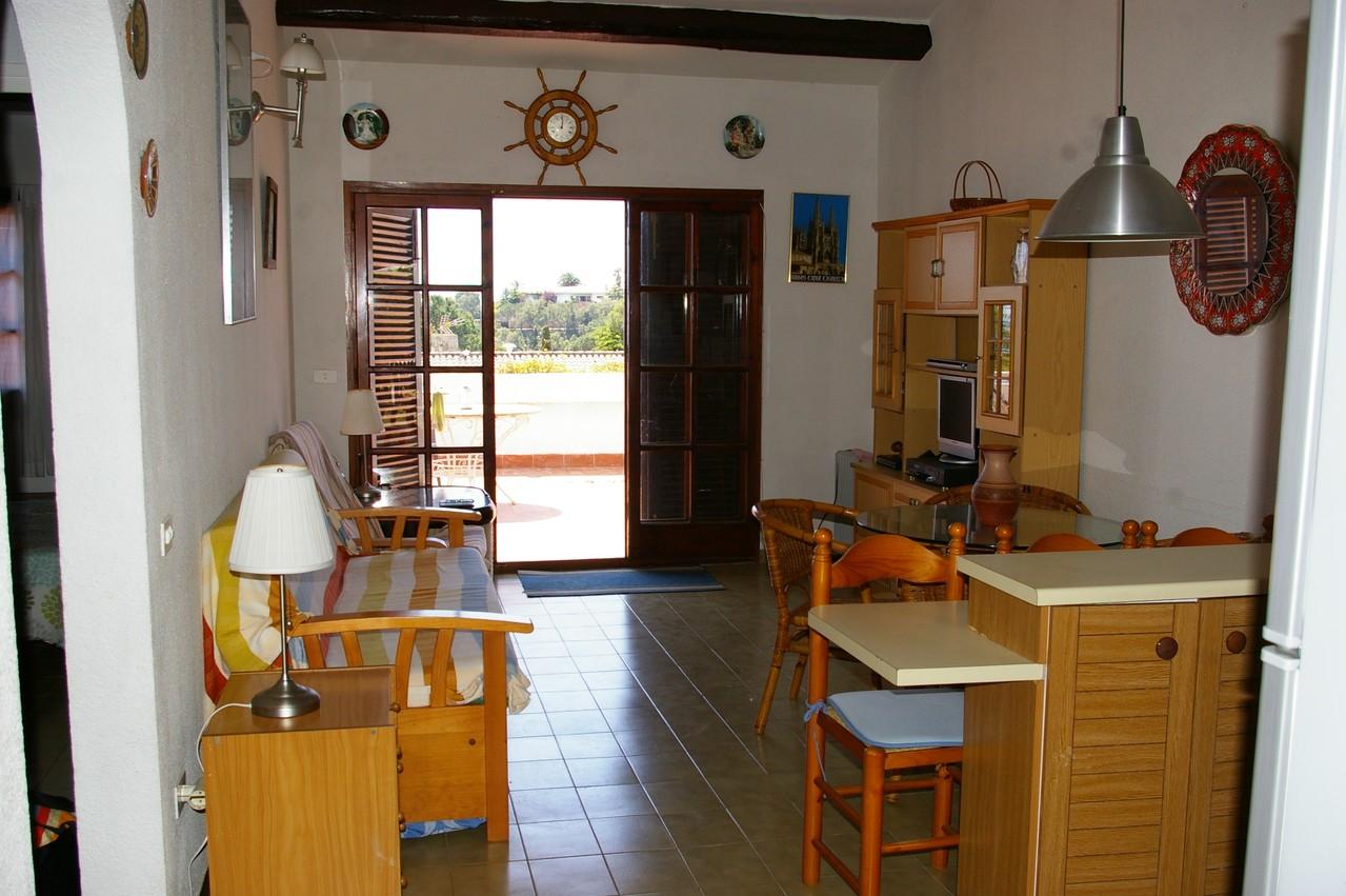 Casa de vacaciones con piscina en Tossa de Mar, salón